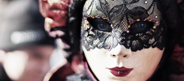 Una bellissima maschera veneziana