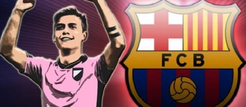Dybala tra passato al Palermo e futuro al Barça