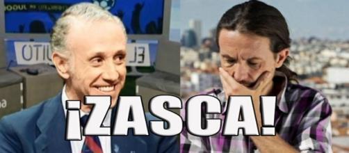 Eduardo Inda caza a Pablo Iglesias