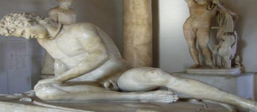 Estatua de los Museos Capitolinos de Roma. Flickr