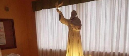 Il progetto della statua di Padre Pio