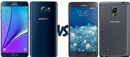 Samsung: Galaxy Note 5 vs Galaxy Note Edge