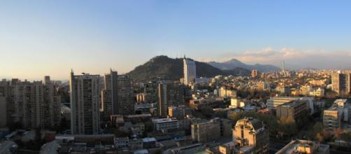 Vista panorámica de Santiago de Chile