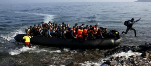 Chegada de mais refugiados à União Europeia