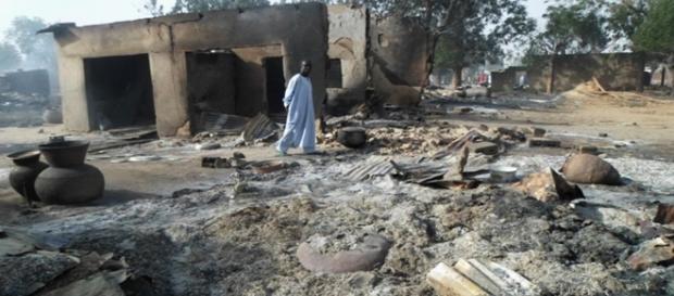 El pueblo de Dalori tras el ataque de Boko Haram