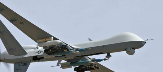 Foto de Drone pronto para entrar em ação