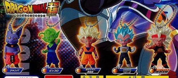 Personajes de Dragon Ball Super en miniatura