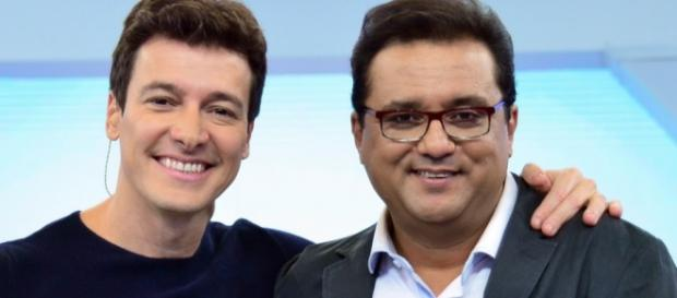 Rodrigo Faro e Geraldo Luís - Foto/Divulgação
