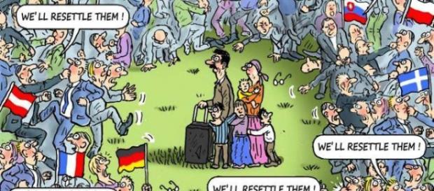 Zła Europa przeciw uchodźcom? (reddit.com)