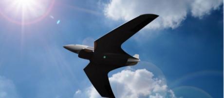 Avião supersônico percorre grandes distâncias