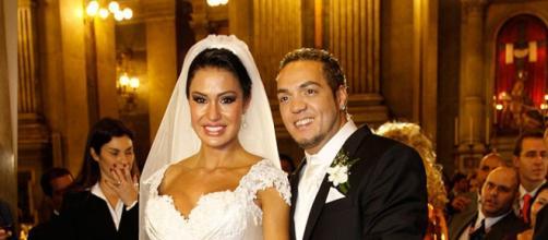 Casamento de Gracyanne e Belo pode estar ameaçado.