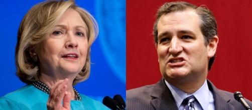 Clinton e Cruz, vincitori delle primarie in Iowa