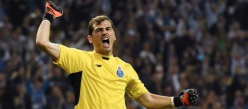 Iker Casillas num jogo pelo FC Porto