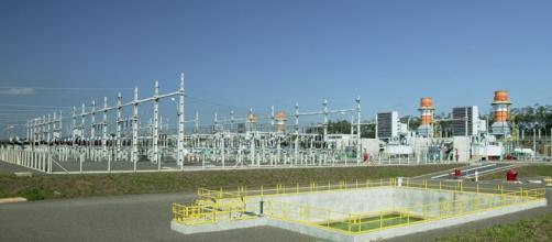 Imagem de usina termelétrica projeto da Petrobras