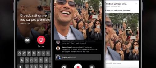 Live Mentions, app che permette la diretta Live.