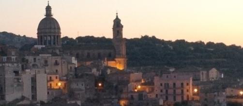 Ragusa Ibla, panorama romantico