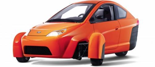 The Elio, the 84 mpg, $6,800 vehicle.