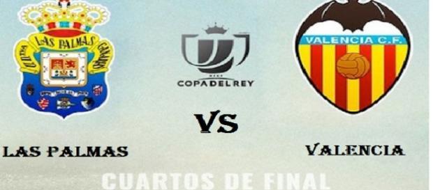 Copa del Rey, Las Palmas vs Valencia