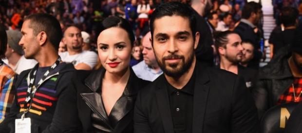 Demi Lovato e Wilmer Valderrama | Foto: divulgação