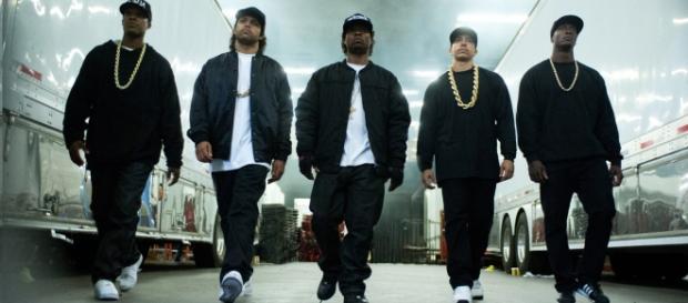 El elenco de Straight Outta Compton