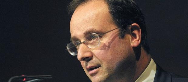 Il presidente francese François Hollande.
