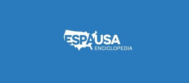 Logotipo de la Enciclopedia EspaUSA.