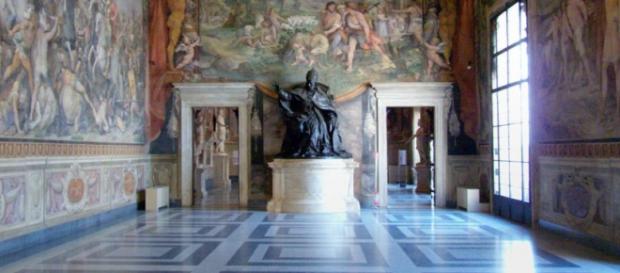 Musei Capitolini, una sala all'interno.