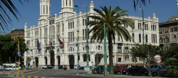 Palazzo Bacaredda, sede del municipio a Cagliari