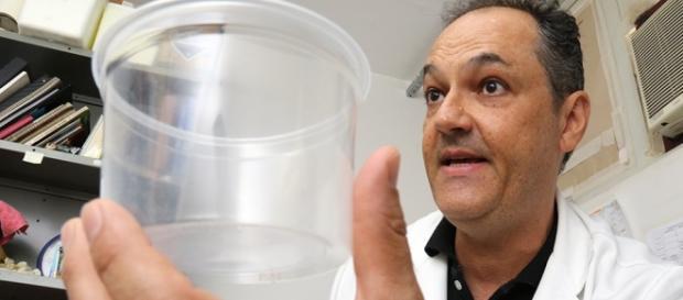 Professor na UFMS. Foto/reprodução: Victor Chileno