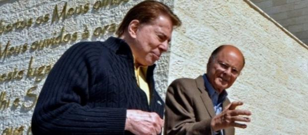 Silvio Santos e Edir Macedo - Reprod: TV Record