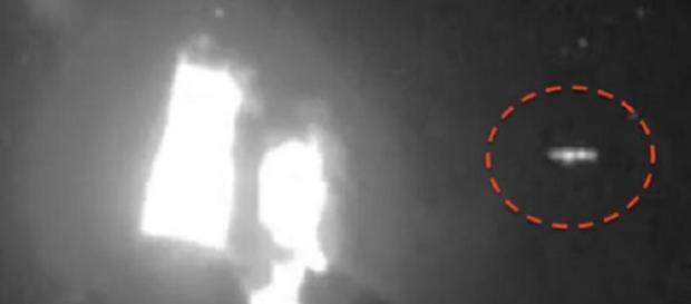 Ufo sopra il Vulcano Colima in Messico