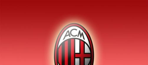 AC Milan team crest by wallpaperlepi.com