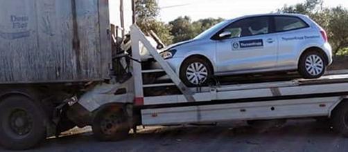 Acidente ocorreu na Estrada Nacional nº 3