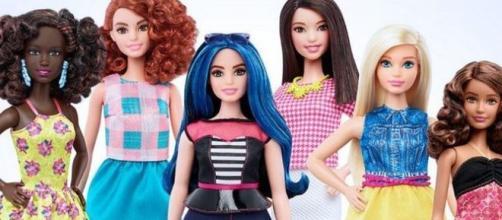 Así son las nuevas muñecas Barbie