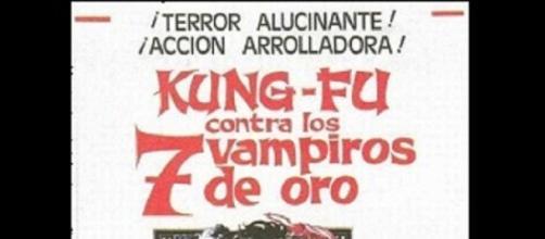 Cartel: Kung-Fu contra los 7 vampiros de oro