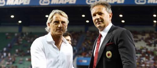 Mihajlovic e Mancini: Milan-Inter, il 31.01