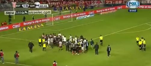 Otro vergonzoso capítulo en el fútbol argentino