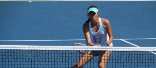 Shuai Zhang at the 2016 Australian Open - flickr
