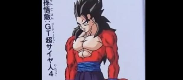 Dibujo de Toriyama para Gohan SS4