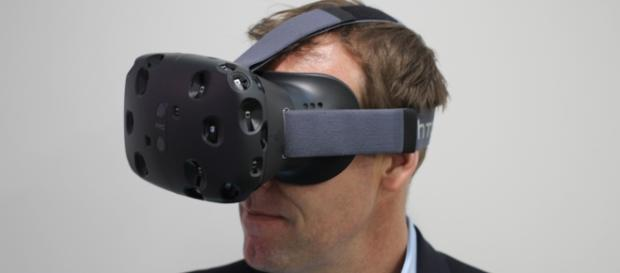 Gafas de realidad virtual HTC Vibe. Wikipedia
