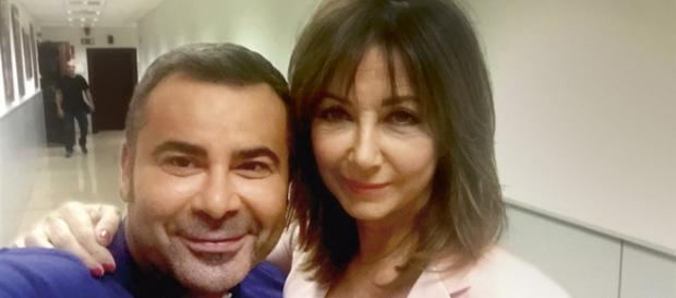 Jorge Javier y Ana Rosa Quintana, en un selfie