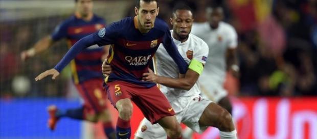 Sergio Busquets Champions League 15-16