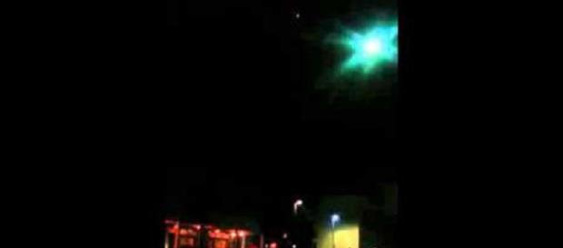 Ufo a Novi Ligure nella notte di sabato scorso