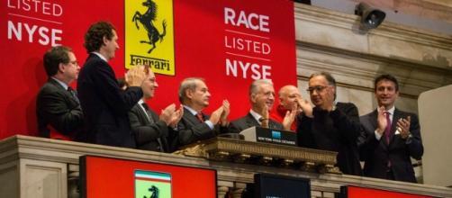 Il debutto a Wall Street del titolo Ferrari