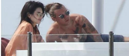 Kendall Jenner em St Barth com Harry Styles