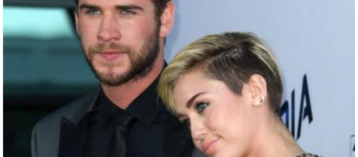 Miley Cyrus com Liam Hemsworth