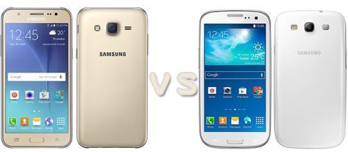 Samsung: Galaxy J5 vs Galaxy S3 Neo