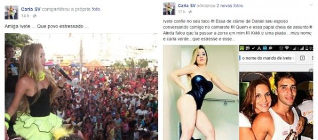 Mulher que provou ciúmes em Ivete Sangalo