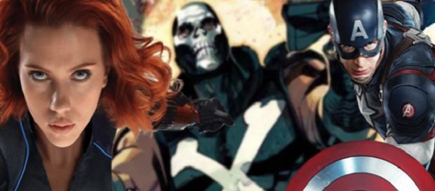 Se filtran nuevas imágenes de Black Widow