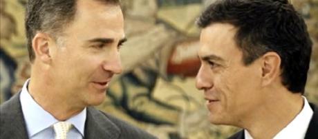 FelipeVI y Pedro Sanchez / Canarias TV